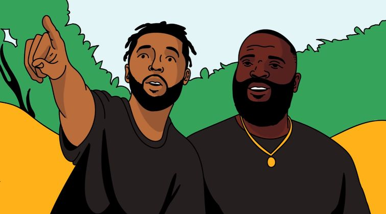Cover image for Rick Ross - Hiking with Rappers (Ep. 2)