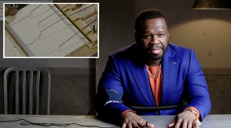 Cover image for 50 Cent Takes a Lie Detector Test