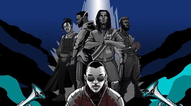 Cover image for Swindle ft. Knucks, Ghetts, Akala & Kojey Radical - Blow Ya Trumpet