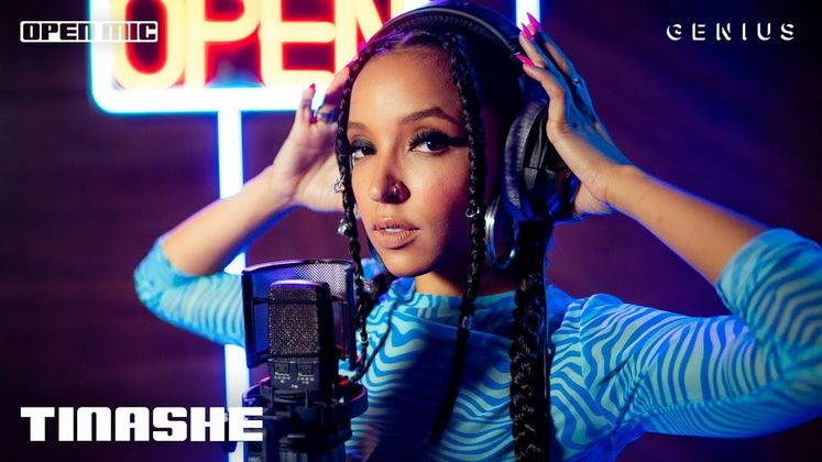 Cover image for Open Mic: Tinashe - Bouncin (Live Performance)